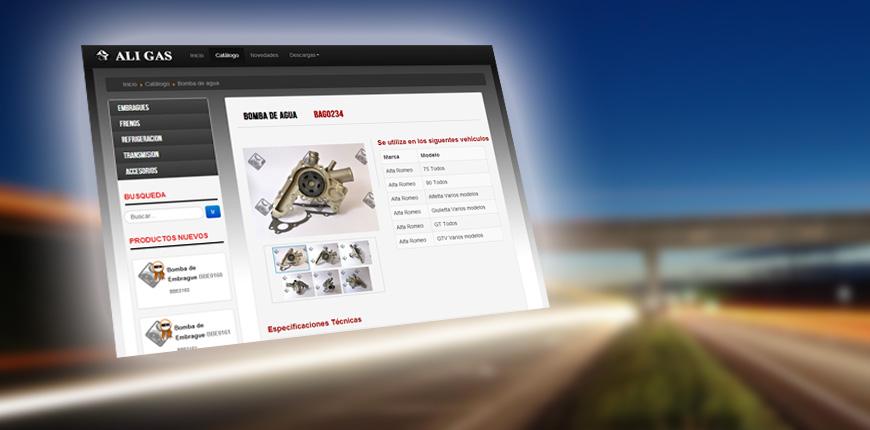 Consulte nuestro catálogo On Line